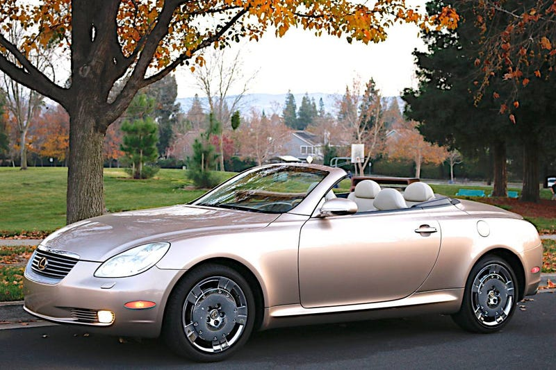 Illustration for article titled For $9,900, Could This 2002 Lexus SC430 Overcome Your Prejudices Against The Lexus SC430?