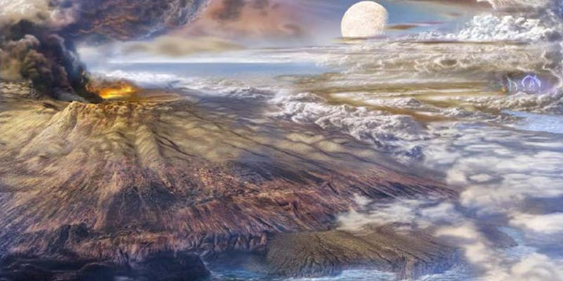 Illustration for article titled More Evidence That Early Earth Was Not A Complete Hellhole