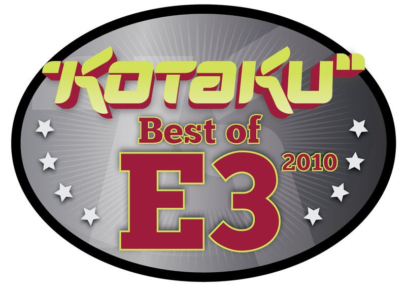 Illustration for article titled Kotaku's Best of E3 2010 Award Winners