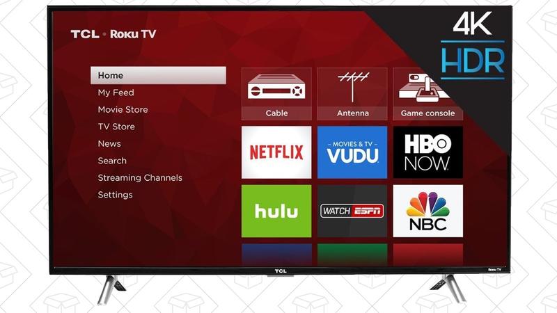 "Televisor TCL 43"" 4K Roku | $300 | Amazon"