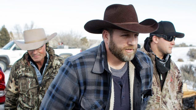 Ammon Bundy Has a Bold New Plan to Simultaneously Get Covid-19 and Be Arrested Again