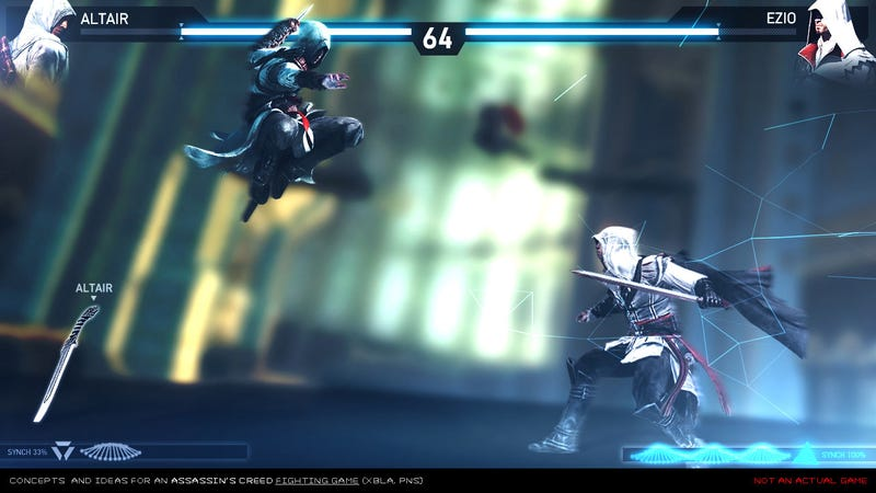 Illustration for article titled What An Assassin's Creed Fighting Game Could Look Like