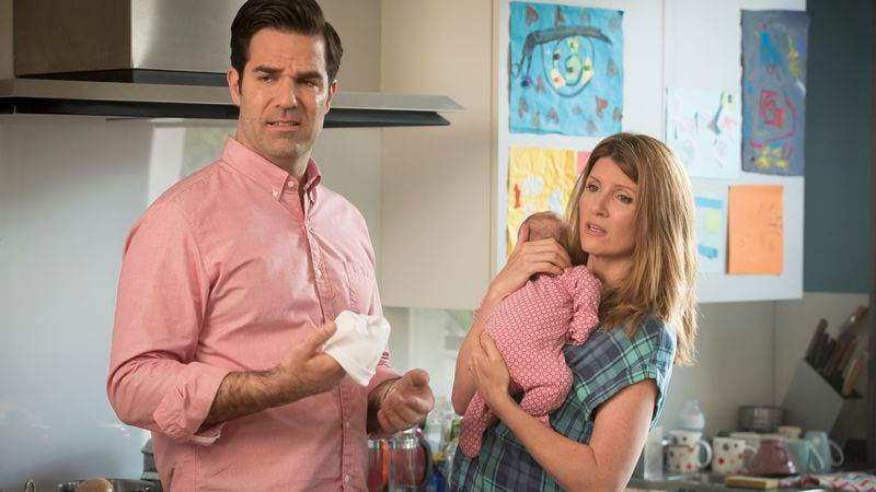 Illustration for article titled Catastrophe, the best rom-com on TV, returns for another messy season