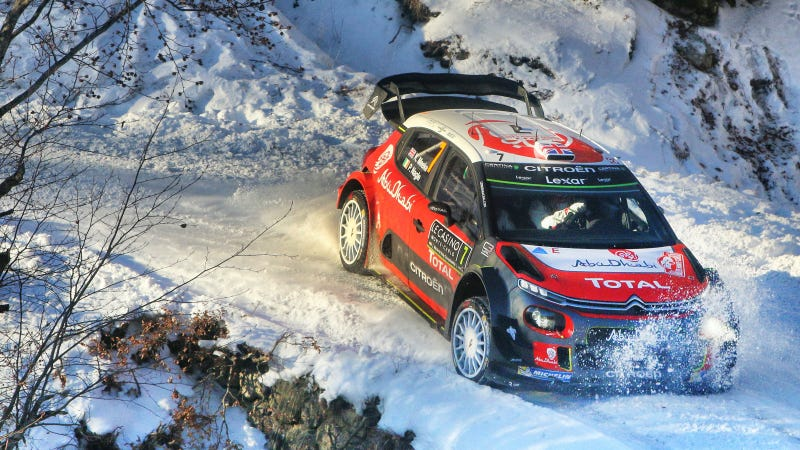 Rallying-Ogier capitalises on Neuville misfortune to surge into Monte Carlo lead