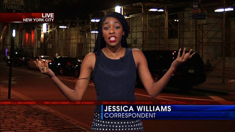 Illustration for article titled 'Feeling Black All the Time' Stresses Jessica Williams Out