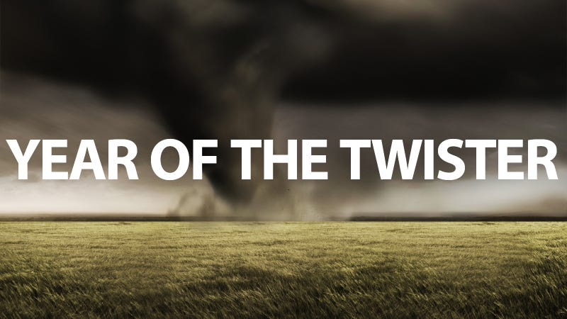 Illustration for article titled Why Are There So Many Tornadoes This Year?