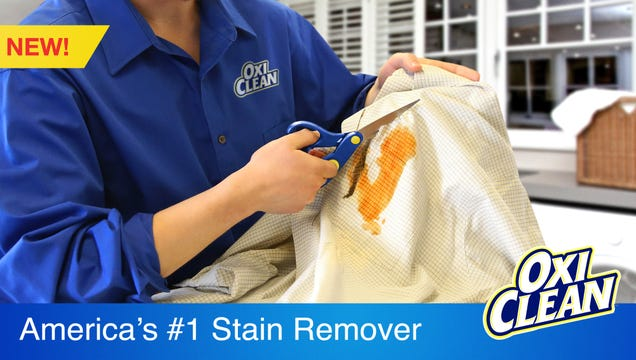 OxiClean Unveils New Stain-Removing Fabric Scissors