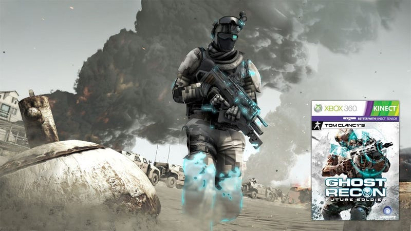 Illustration for article titled Will Ghost Recon: Future Soldier Be 'Better With Kinect'?