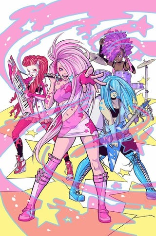 Illustration for article titled And The Writer Of The New Jem And The Holograms Comic Is...