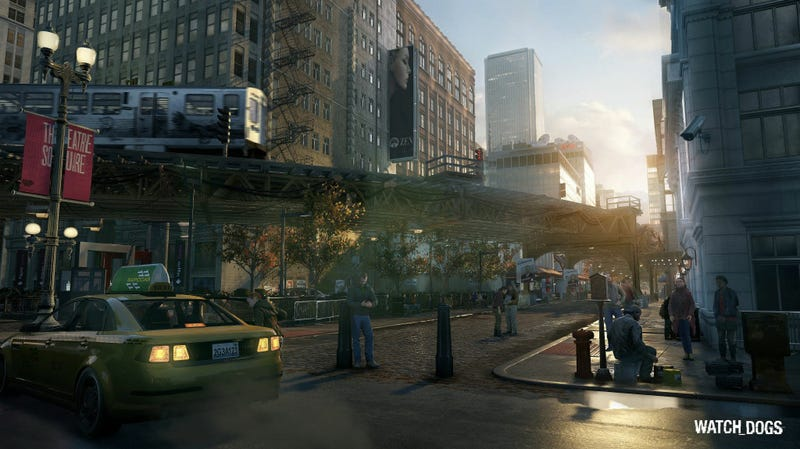 Illustration for article titled This Watch Dogs Screenshot Sure Looks Next-Gen, Doesn't It?