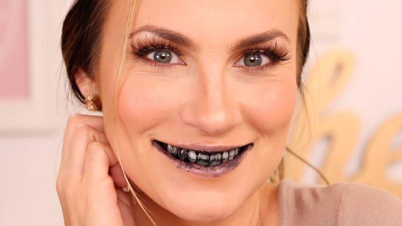clareando os dentes