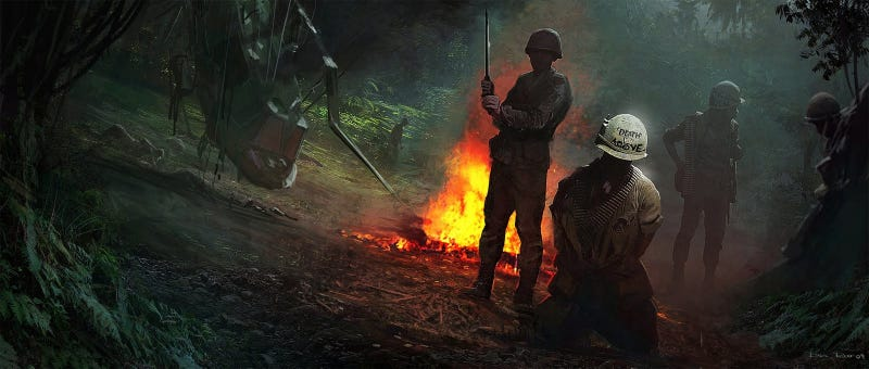 Illustration for article titled What A Call of Duty In Vietnam Could've Looked Like