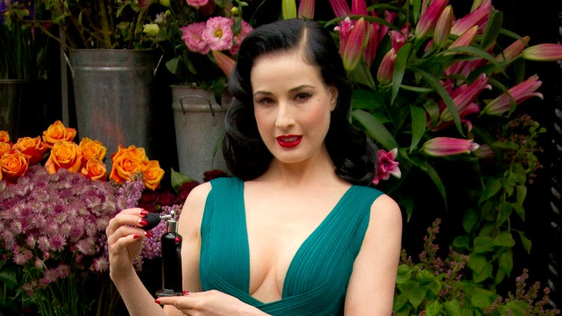 Illustration for article titled Rhythm Is A (Naked) Dancer, Says Non-Judgmental Dita Von Teese
