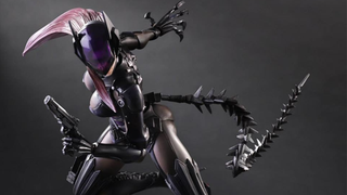 Illustration for article titled Final Fantasy Designer's Alternative Catwoman Continues To Look Insane