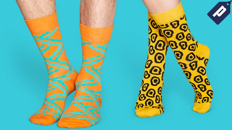 Illustration for article titled Save Up To 50% In The Happy Socks Outlet Store: Fresh, Colorful Pairs For Fall