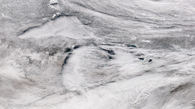 Apocalyptic Image of the Great Lakes Gives New Meaning to 'Lake-Effect Snow'