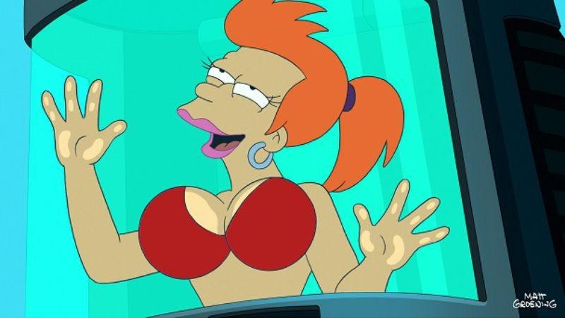"Illustration for article titled Futurama: ""Neutopia""/""Benderama"""