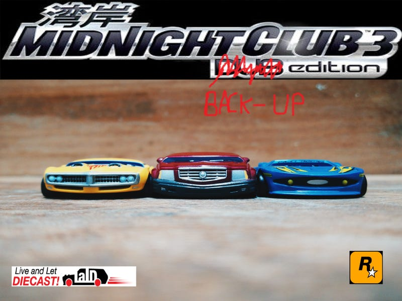 Illustration for article titled Midnight Club Back-up Edition