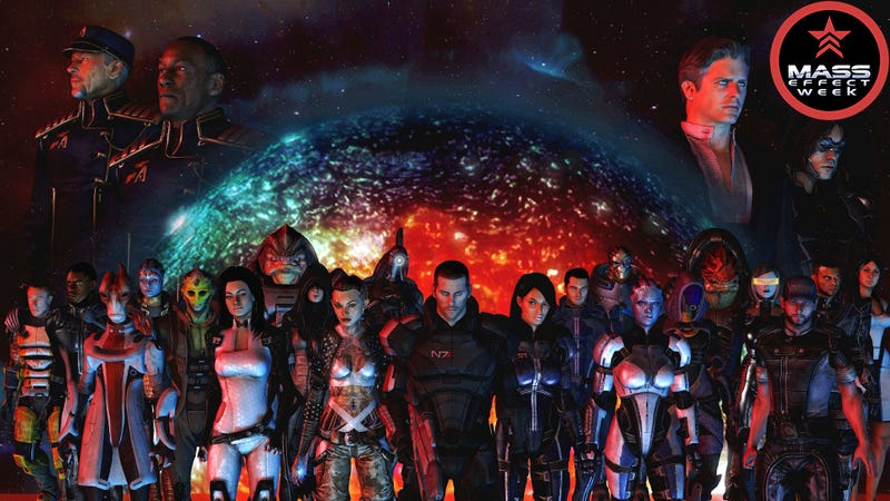 Illustration for article titled The Countless Characters of Mass Effect