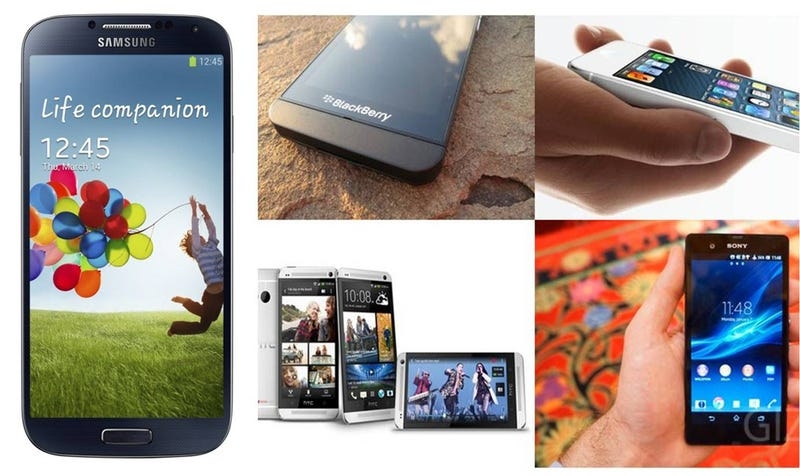 Illustration for article titled Comparativa del Galaxy S4 con sus rivales: ¿quién gana?