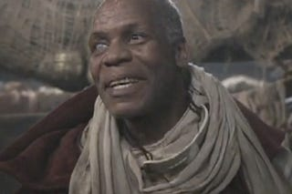Illustration for article titled Danny Glover Isn't Too Old To Play The Captain Ahab Of Dragon-Hunters
