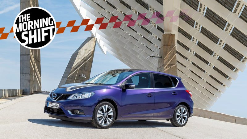 Pictured: A 2015 Nissan Pulsar