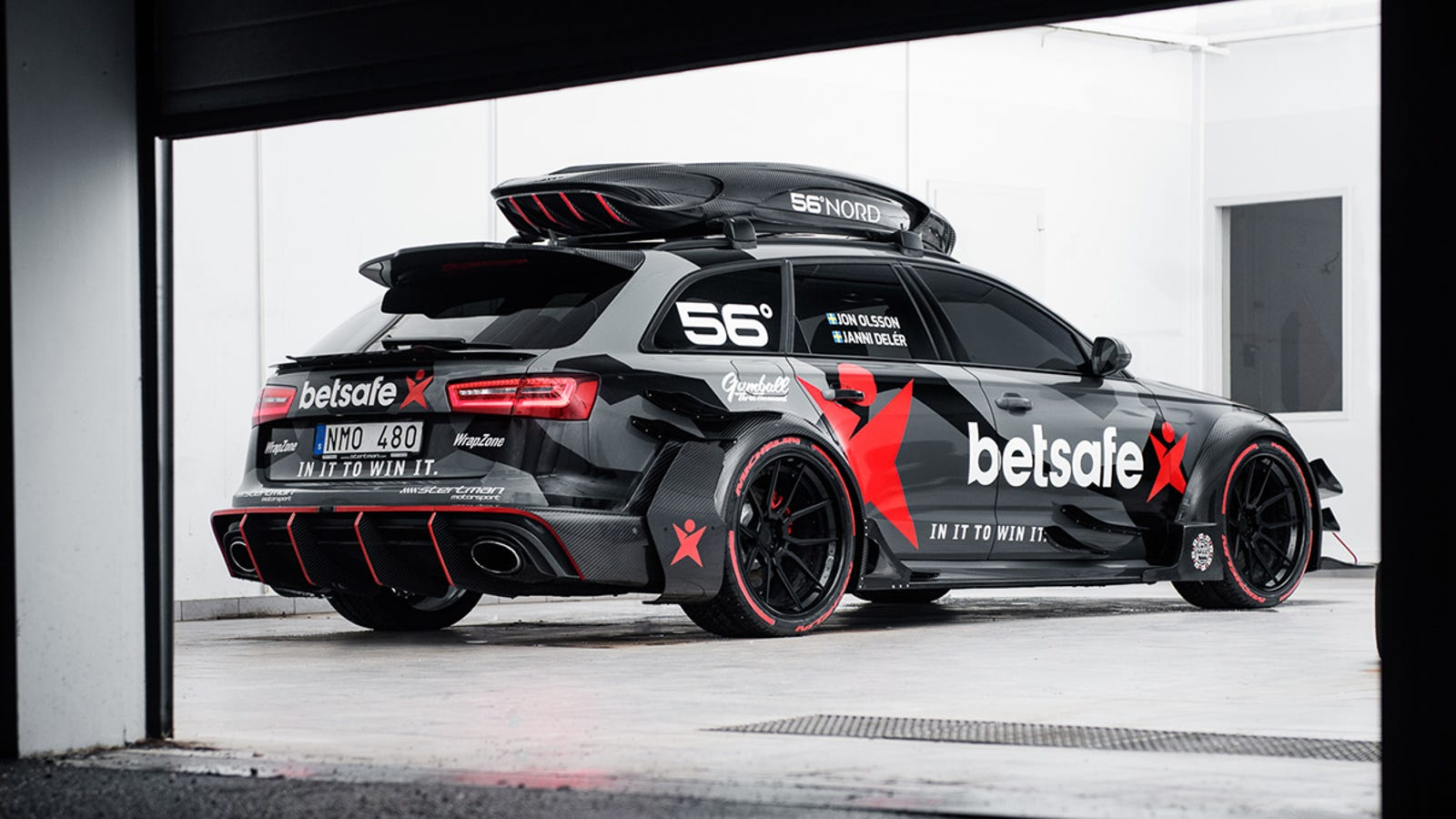 Jon Olsson S 1 000 Hp Audi Rs6 Avant Is A Dtm Fever Dream