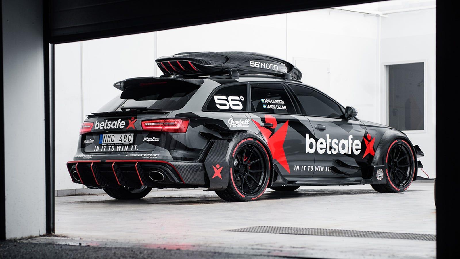 Jon Olsson's 1,000-HP Audi RS6 Avant Is A DTM Fever Dream