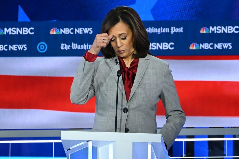Illustration for article titled Kamala Harris Drops Out of Presidential Race Amid Rumors of a Directionless Campaign That Was Hemorrhaging Cash