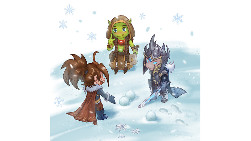Illustration for article titled Blizzard is making a WoW kid's book