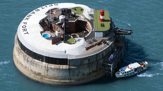 Illustration for article titled These abandoned sea forts have been turned into luxury hotels