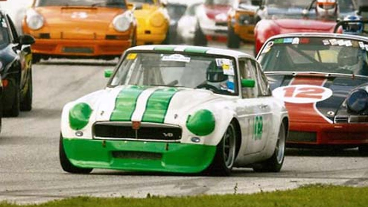 The Fastest MG In North American Road Racing: Les Gonda\'s 1973 MGB-GT