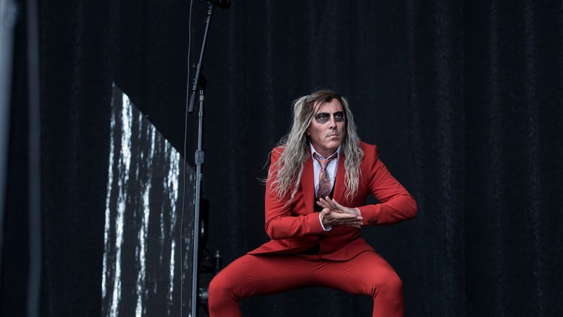 Keenan performing with A Perfect Circle in Denmark.
