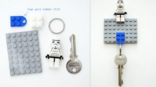 Illustration for article titled Make a Cool DIY Lego Key Holder