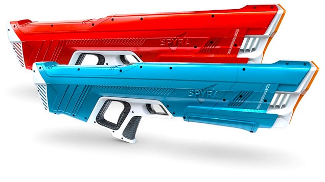 The Water Gun That Shoots Liquid Bullets Has Been Upgraded With a Promise That It No Longer Leaks
