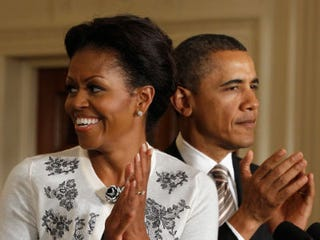 Michelle and Barack Obama (Getty Images News)