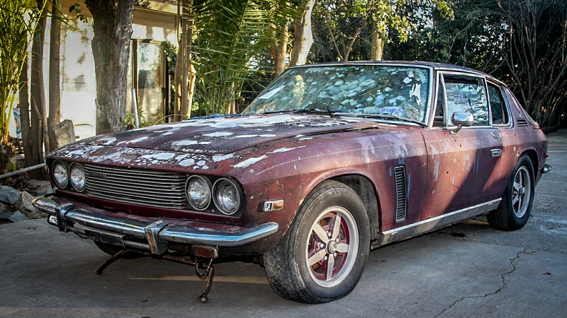 This Cheap Jensen Interceptor Is The Coolest S Car You Can Buy - Cool cheap 70s cars