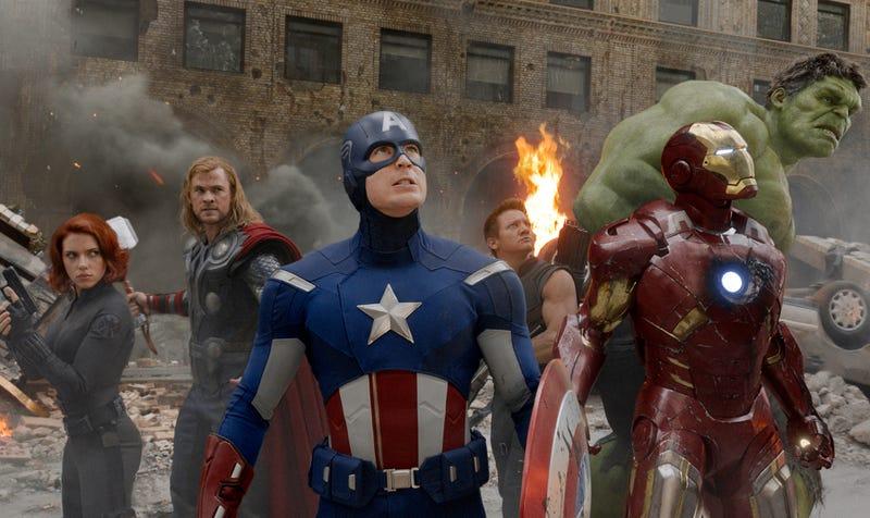 Los Vengadores, en su primera película juntos. Hace seis años de eso.