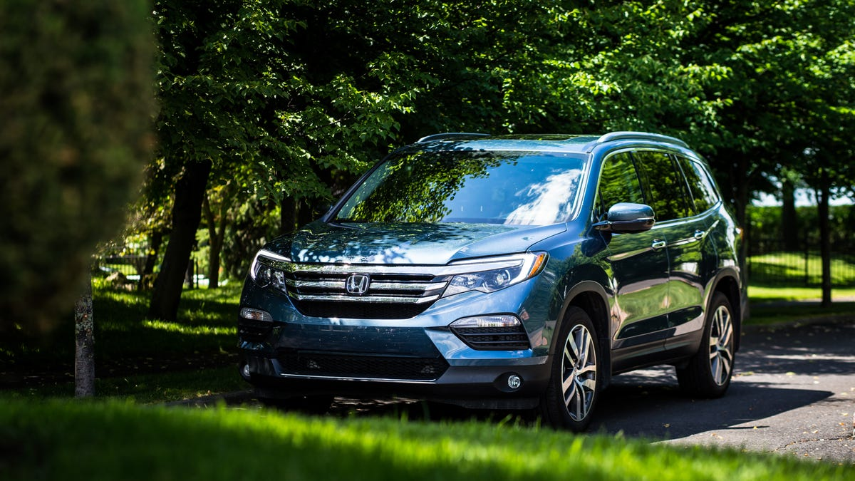 The 2017 Honda Pilot Is For When You Just Can't Buy The Damn