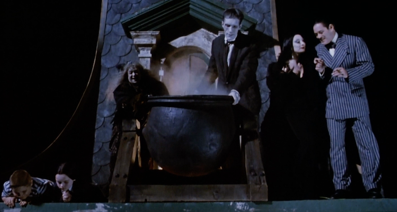 Image: Screenshot from The Addams Family, Paramount