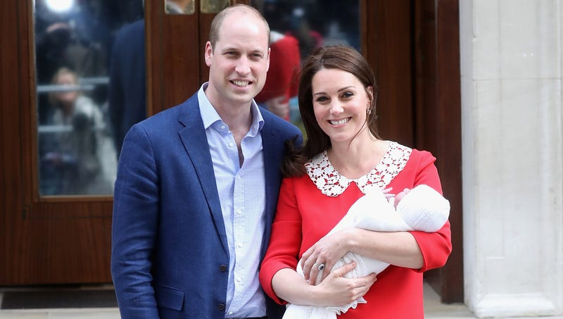 Illustration for article titled Duke, Duchess Of Cambridge Announce Name Of Third Child Is Louis Arthur Al-Baghdadi