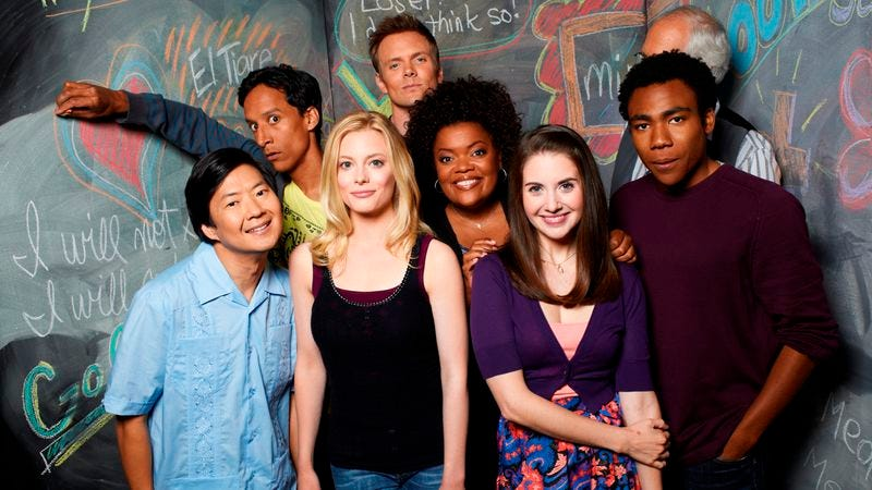 Advanced introduction to community in 10 episodes for Community tv show pool episode