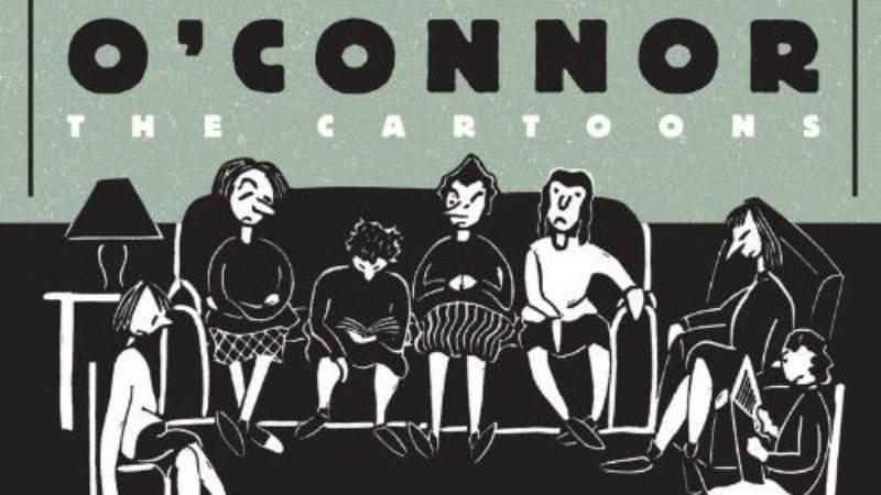 Illustration for article titled Fantagraphics to release collection of Flannery O' Connor cartoons