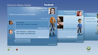 Illustration for article titled Facebook on XBL Available for Minors — Outside of U.S.