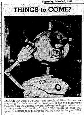 Illustration for article titled Robots Will Be Kings (1949)