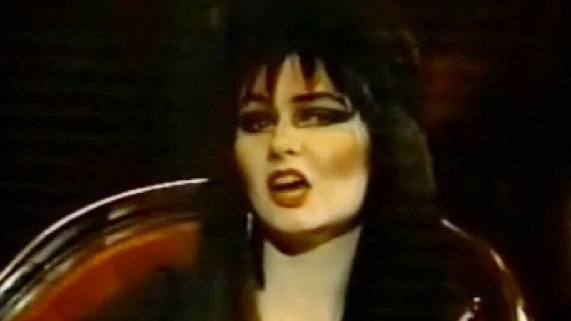 Illustration for article titled Milwaukee once had its own Elvira impersonator—and we can prove it