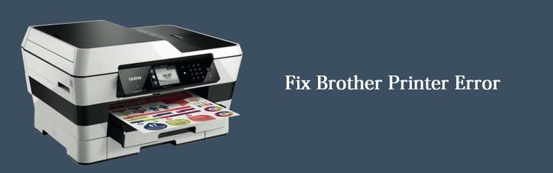 Fix Brother Printer Error