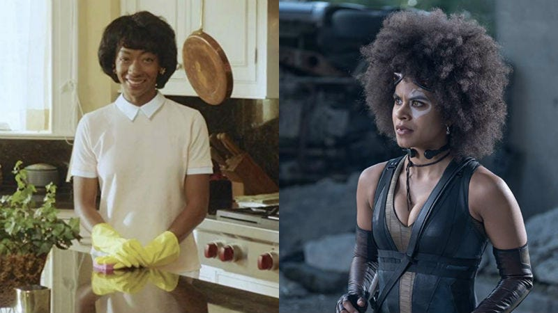 Betty Gabriel (seen here in Get Out) and Zazie Beetz (in Deadpool 2) are the latest additions to The Twilight Zone.