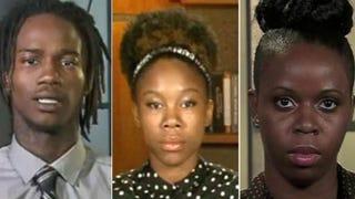 Dorian Johnson; Piaget Crenshaw; Tiffany MitchellMSNBC Screenshot; CNN Screenshot; MSNBC Screenshot