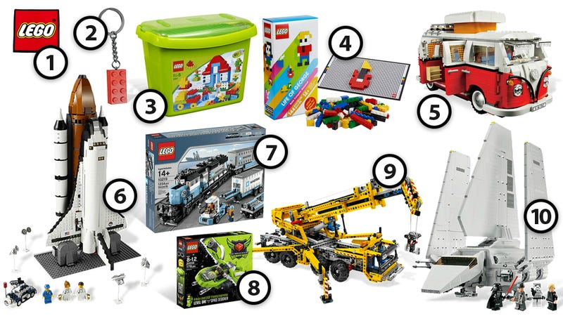 Illustration for article titled Lego Lovers Will Want Every Item In this Gift Guide